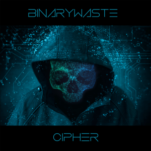 binarywaste - cipher - cover art - 1000x1000